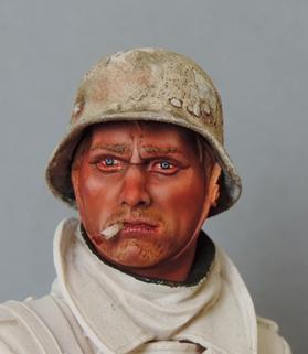 Buste infanterie Allemande, front Russe 1943, FINI... Dscn1910