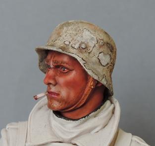 Buste infanterie Allemande, front Russe 1943, FINI... Dscn1911