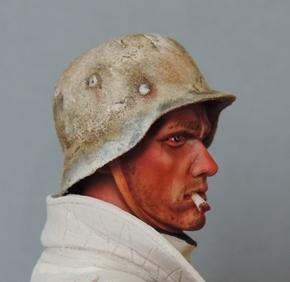 Buste infanterie Allemande, front Russe 1943, FINI... Dscn1912