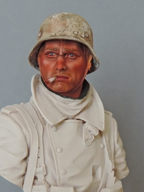 Buste infanterie Allemande, front Russe 1943, FINI... Dscn1913