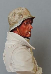 Buste infanterie Allemande, front Russe 1943, FINI... Dscn1915