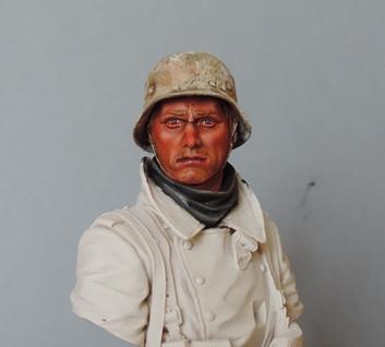 Buste infanterie Allemande, front Russe 1943, FINI... Dscn1917