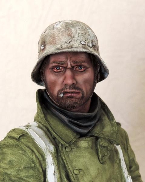 Buste infanterie Allemande, front Russe 1943, FINI... Dscn1919