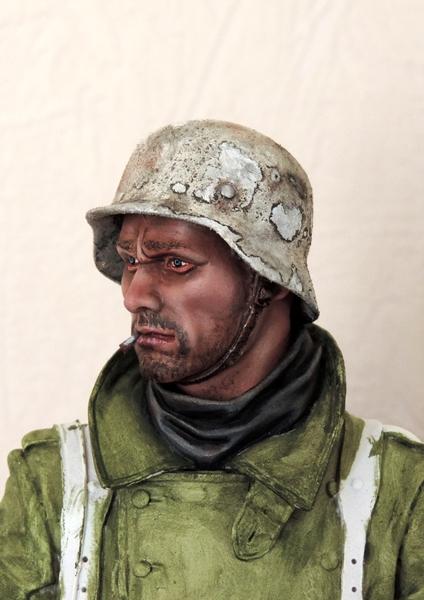 Buste infanterie Allemande, front Russe 1943, FINI... Dscn1920