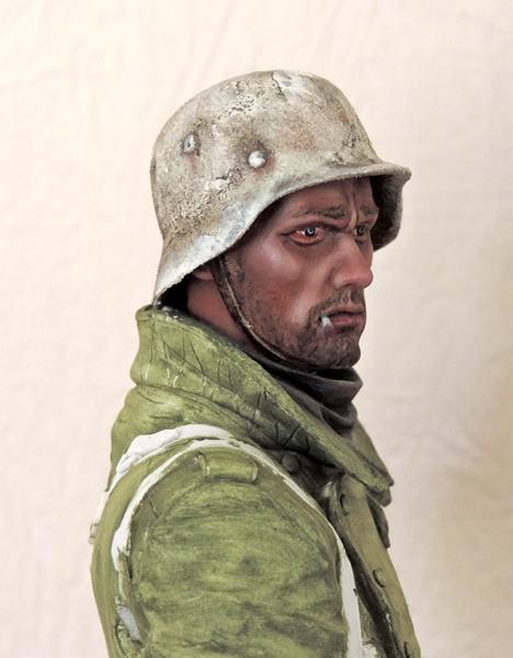 Buste infanterie Allemande, front Russe 1943, FINI... Dscn1921