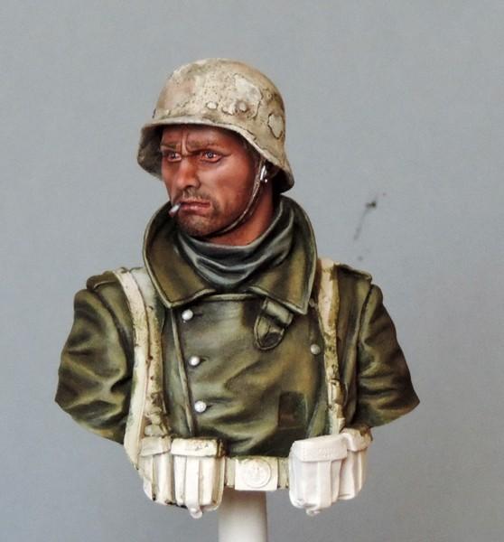 Buste infanterie Allemande, front Russe 1943, FINI... Dscn1922