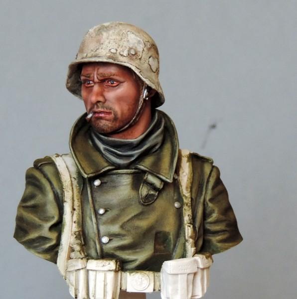 Buste infanterie Allemande, front Russe 1943, FINI... Dscn1923
