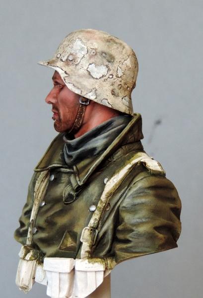 Buste infanterie Allemande, front Russe 1943, FINI... Dscn1924