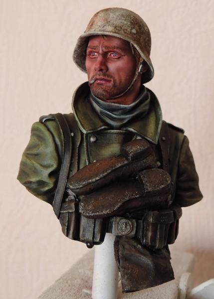 Buste infanterie Allemande, front Russe 1943, FINI... Dscn1938