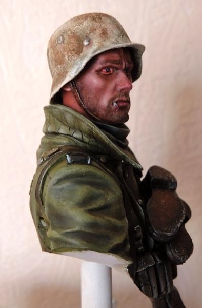 Buste infanterie Allemande, front Russe 1943, FINI... Dscn1939