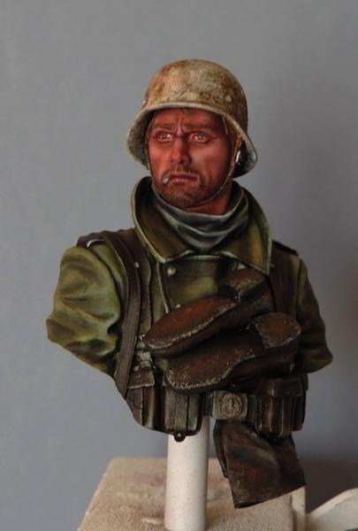 Buste infanterie Allemande, front Russe 1943, FINI... Dscn1941