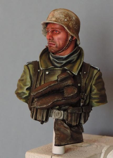 Buste infanterie Allemande, front Russe 1943, FINI... Dscn1942