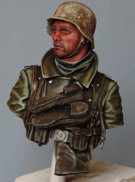 Buste infanterie Allemande, front Russe 1943, FINI... Dscn1945