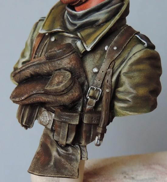 Buste infanterie Allemande, front Russe 1943, FINI... Dscn1946