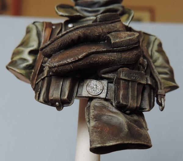 Buste infanterie Allemande, front Russe 1943, FINI... Dscn1947