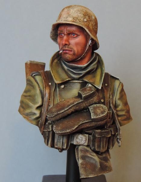 Buste infanterie Allemande, front Russe 1943, FINI... Dscn1954