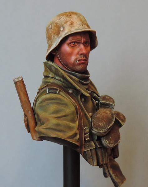 Buste infanterie Allemande, front Russe 1943, FINI... Dscn1957
