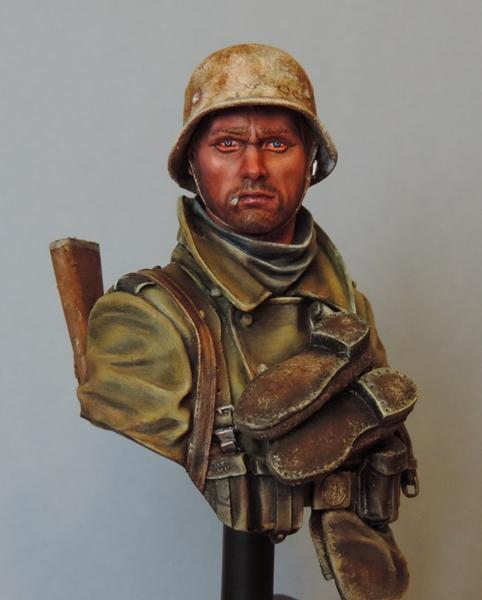 Buste infanterie Allemande, front Russe 1943, FINI... Dscn1958