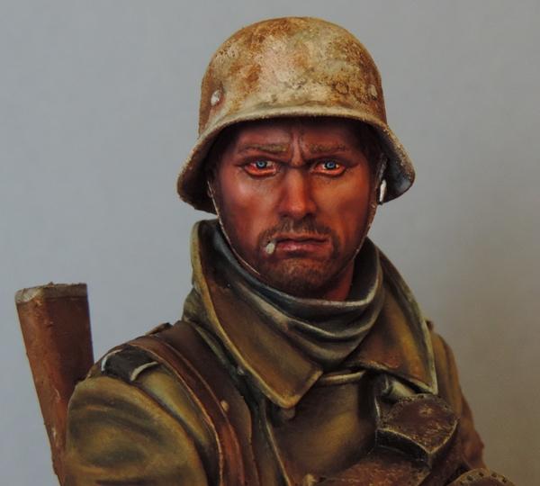 Buste infanterie Allemande, front Russe 1943, FINI... Dscn1959