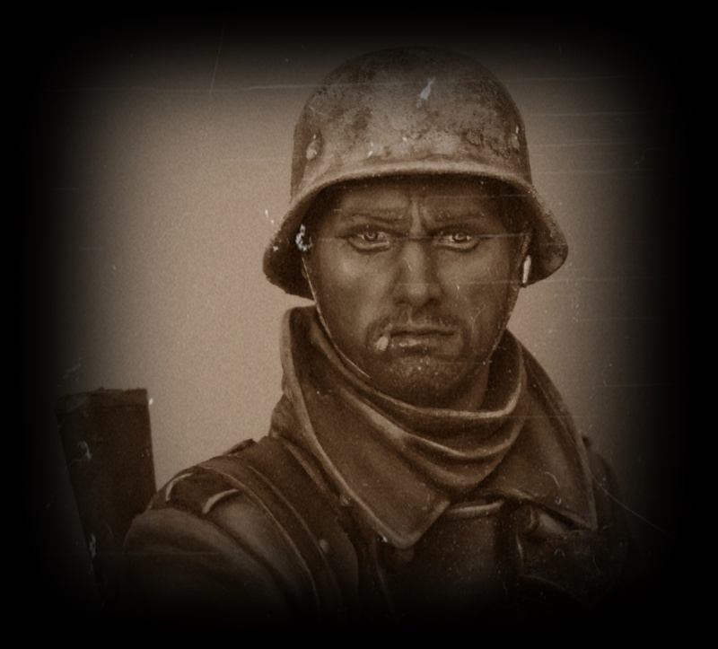 Buste infanterie Allemande, front Russe 1943, FINI... Dscn1960