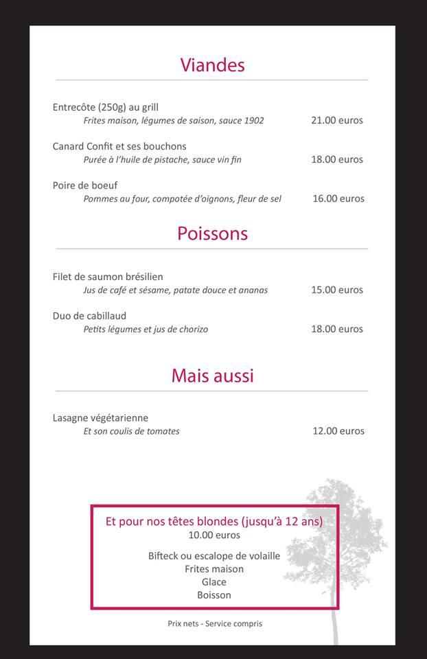 Le 1902 Restaurant (a Ludon Médoc) 11951210