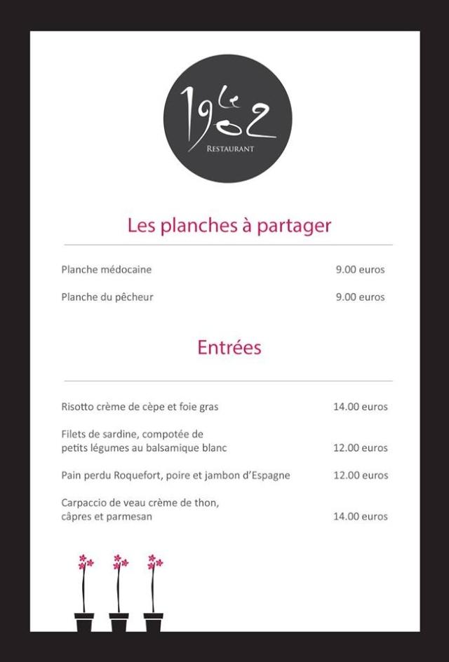 Le 1902 Restaurant (a Ludon Médoc) 11954610