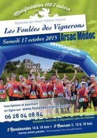 LES FOULEES DES VIGNERONS 2015 le 17 Octobre 2015 à Arsac 38f42110