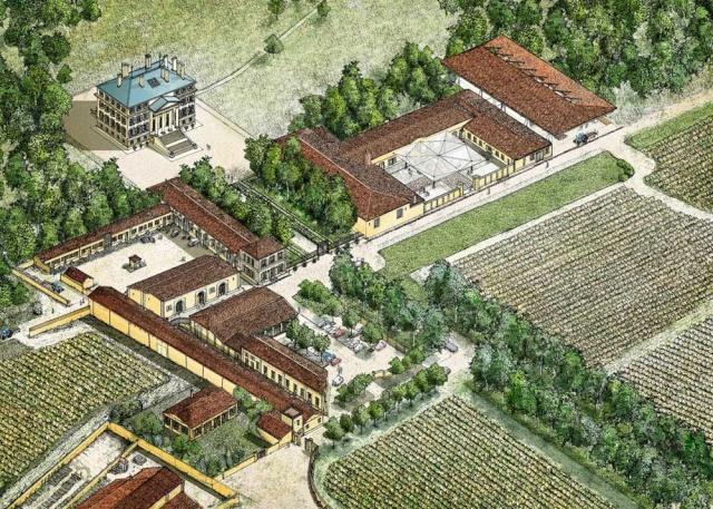 Norman Foster signe un nouveau chai pour le Château Margaux Chatea15