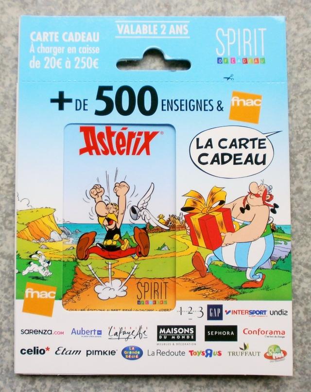 "Carte cadeau Astérix ""Spirit of cadeau "" P9110010"