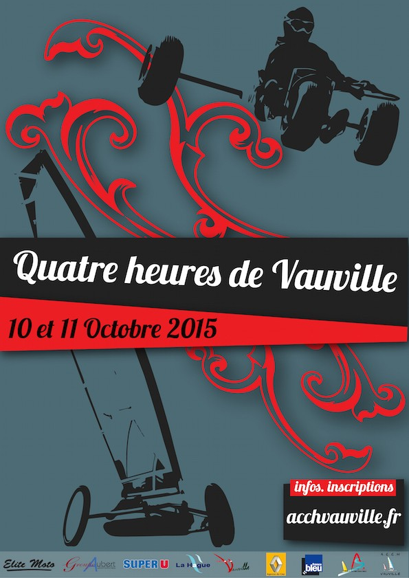 4H De Vauville 2015 Affich10