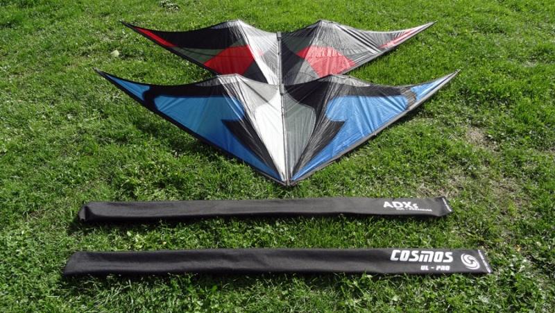 [vendu]Deux bons cerfs-volants de free-style. Cosmos11