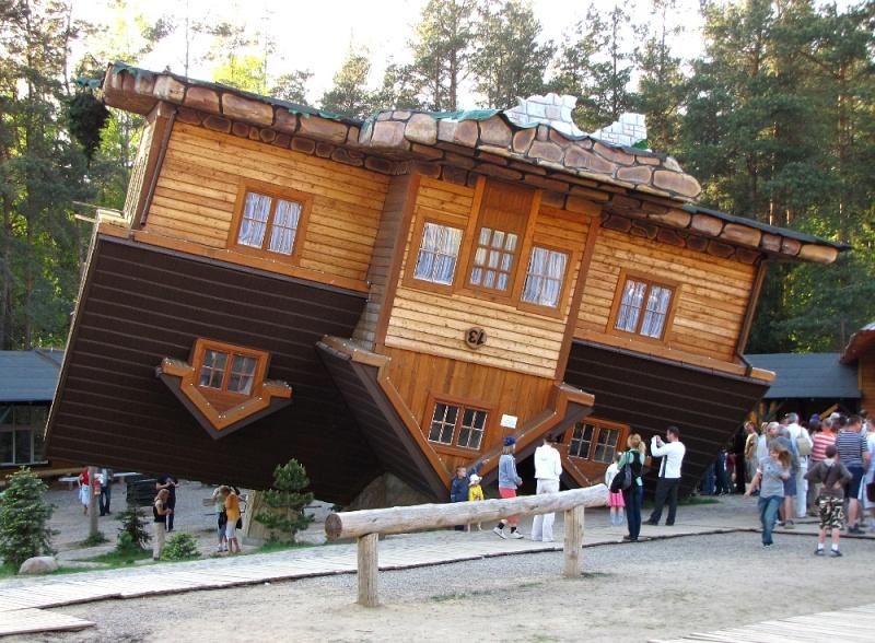 Une maison...renversante - Wieżyca - Pologne 24459111