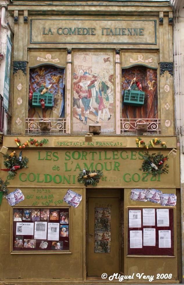 La Comédie Italienne - Rue de la gaieté - Paris 95099910