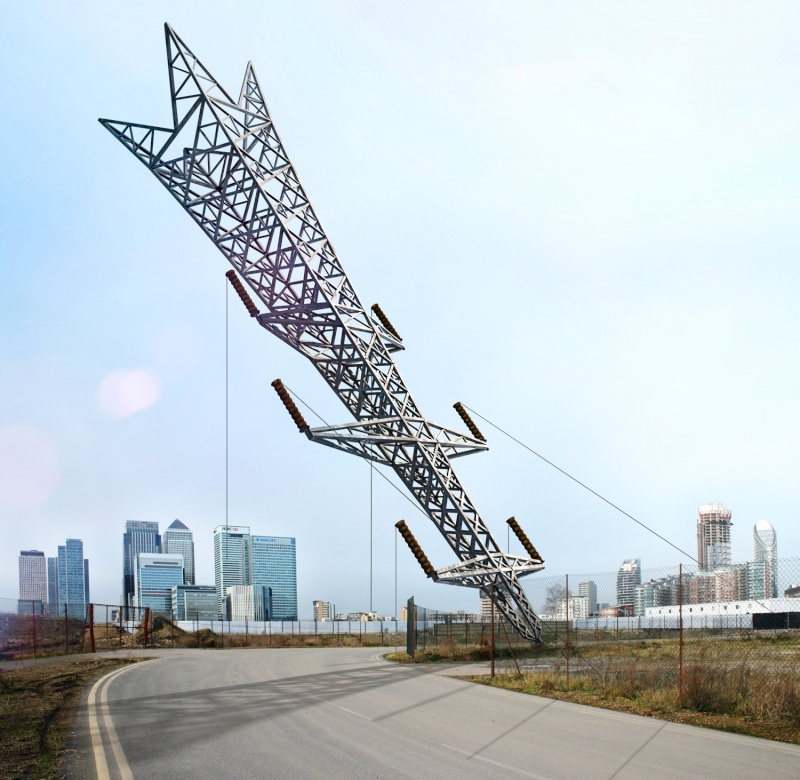 "Enfin visible sur GE : A Bullet From A Shooting Star"" - Greenwich Peninsula - Londres - uk Alex-c10"