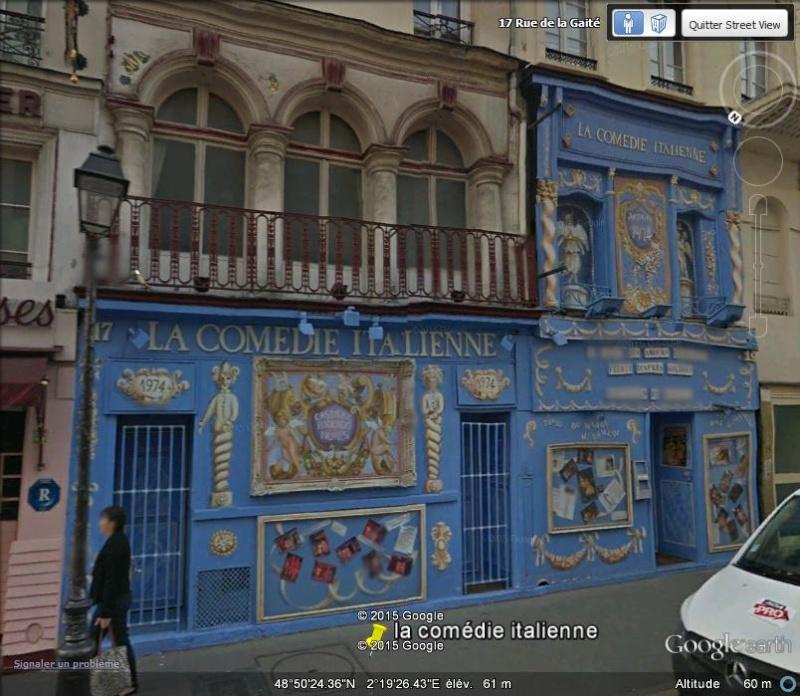 La Comédie Italienne - Rue de la gaieté - Paris C130