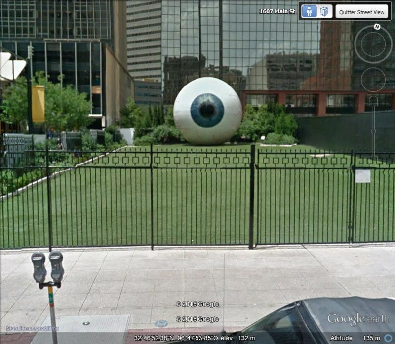 """The Eye"" : sculptures de Tony Tasset C143"