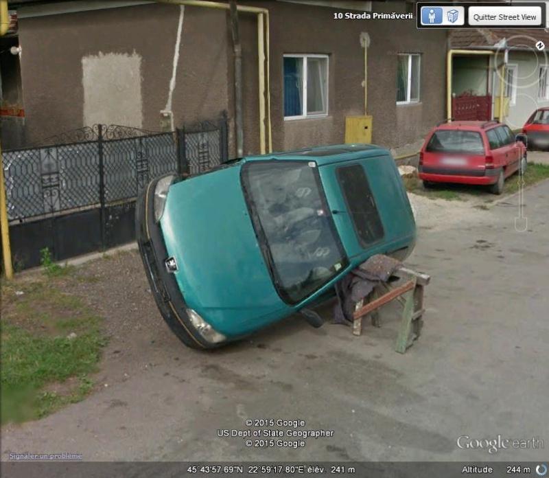 Street View : Les infractions au code de la route C70