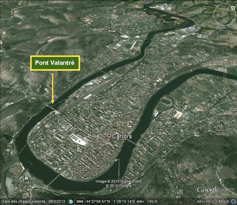 Les villes installées à l'abri d'un méandre H10
