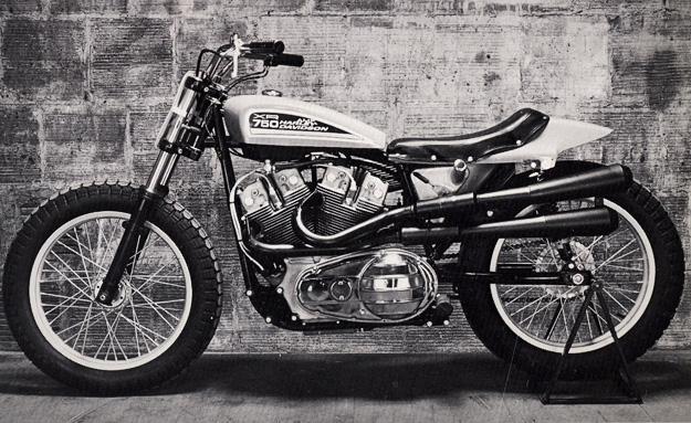Les Flat tracks.... Harley12