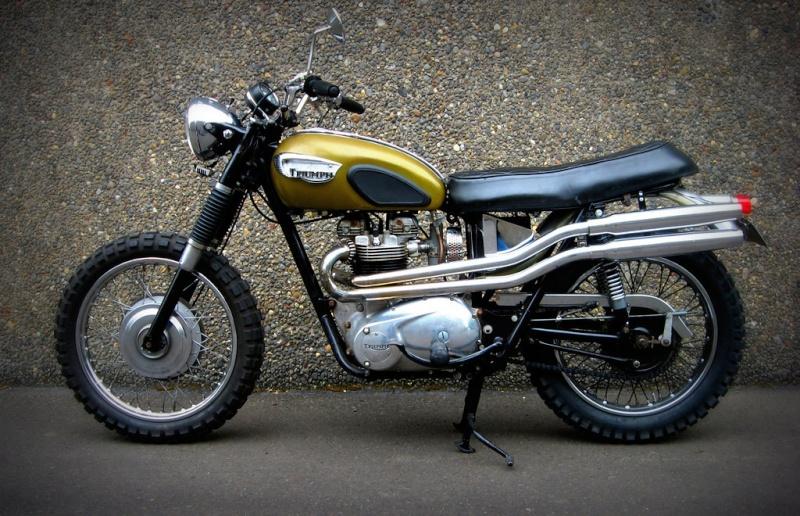 Triumph Scrambler.... Scrrr10