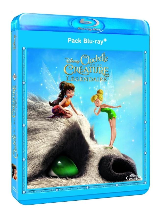 [BD + DVD] Clochette et la Créature Légendaire (2 septembre 2015) 71dgyo11