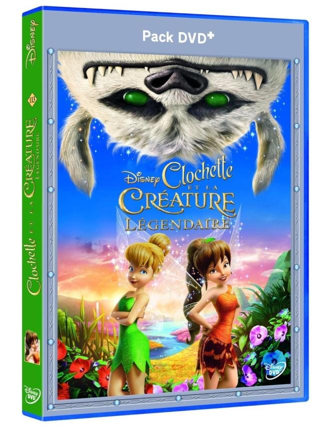 [BD + DVD] Clochette et la Créature Légendaire (2 septembre 2015) 81vi3w10
