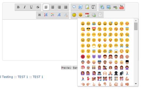 Add Twitter Emoji to the editor