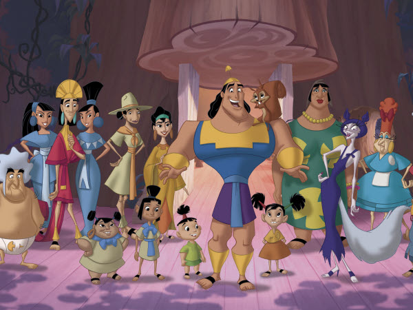 Kuzco 2 : King Kronk Kronks10