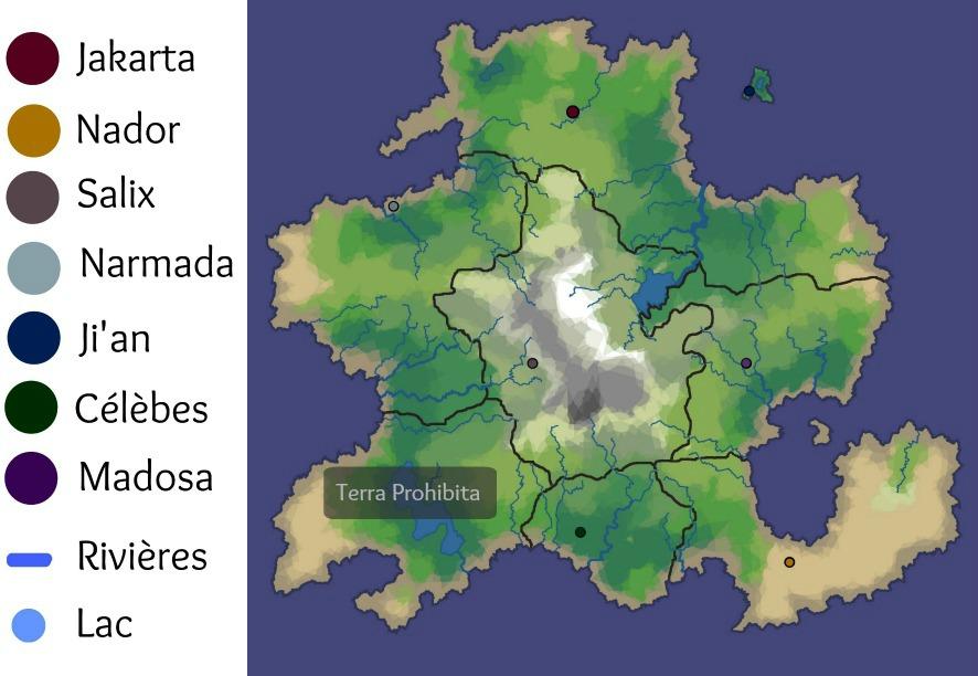 Carte de l'île Carte-10