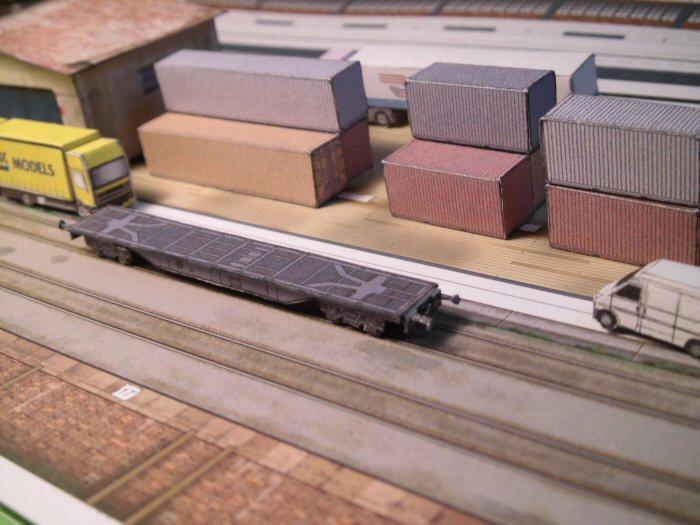Containerwagen in 1:250 Cimg2427