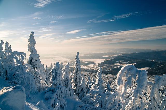La neige en montagne ... B50510