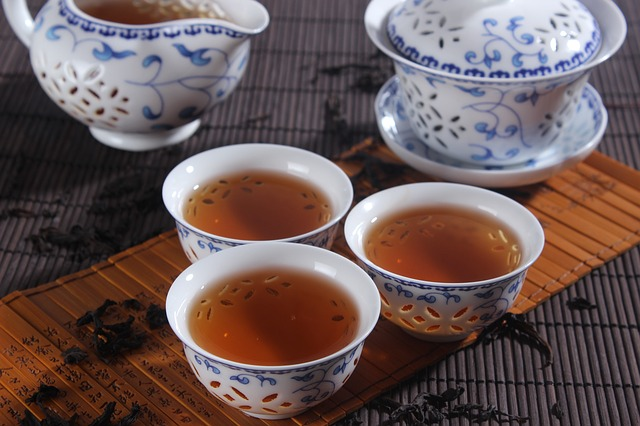 Le thé D8810