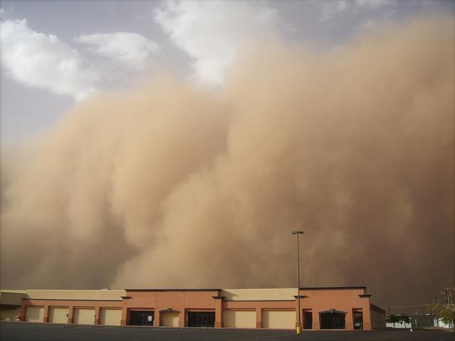 Tempête de sable  E45010