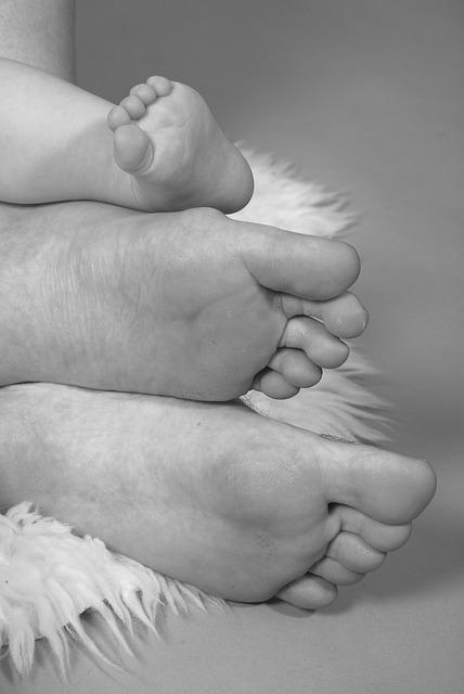 Les pieds  N1310